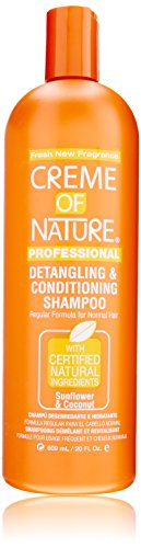 Creme of Nature Detangling Conditioning Shampoofor Normal Hair, Sunflower and Coconut, 20 Ounce Creme Of Nature Nourishing Conditioner