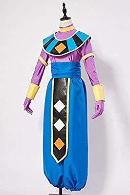 UU-Style Anime Super Dragon Ball Cosplay Party Dress God of Destruction Beerus Cosplay Costume