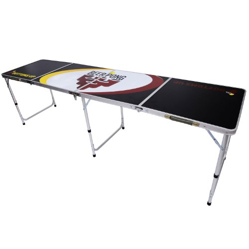 NEW 8' BEER PONG TABLE ALUMINUM PORTABLE ADJUSTABLE FOLDING INDOOR OUTDOOR TAILGATE PARTY GAME #6 by PONGBUDDY