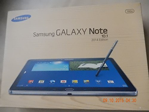 Samsung Galaxy Note 10.1 (2014 Edition) SM-P605 Black , LTE 800/850/900/1800/2100/2600MHz , 3G Ram 16GB - Factory Unlocked - International Version No Warranty