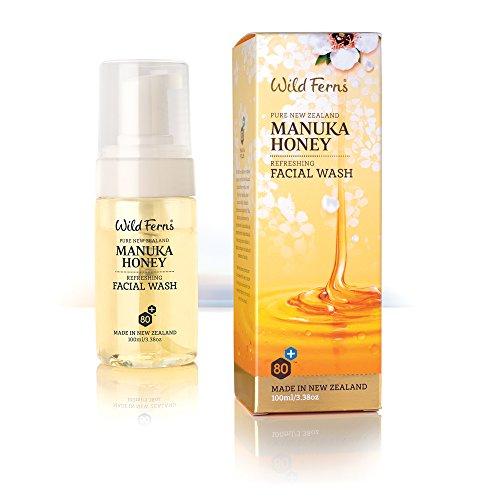 Wild Ferns Manuka Honey Refreshing Facial Wash (Honey Facial Cleanser)