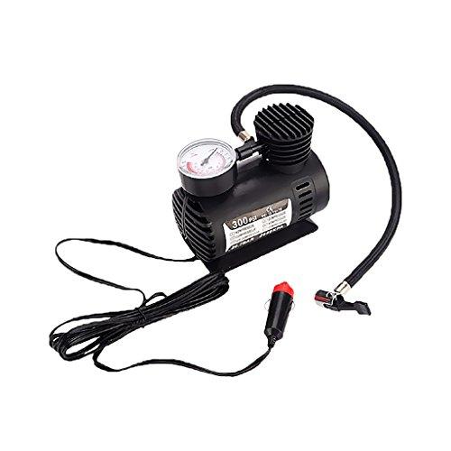 MonkeyJack Portable Electric Mini 12V Air Compressor Pump Car Tyre Tire Inflator 300PSI
