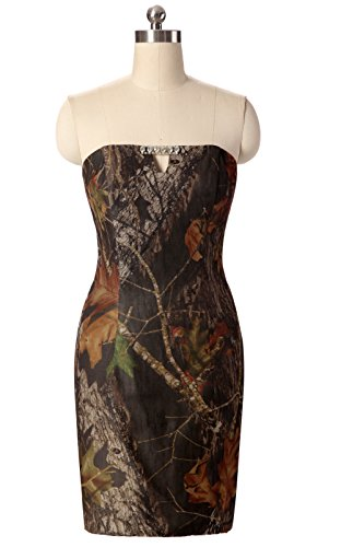 Sexy Camo Dress With Star Appliques (Snowskite Womens Short Sexy Camo Sheath Column Cocktail Party Prom Dress 26)