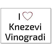 I Love Knezevi Vinogradi, fridge magnet (design 2)