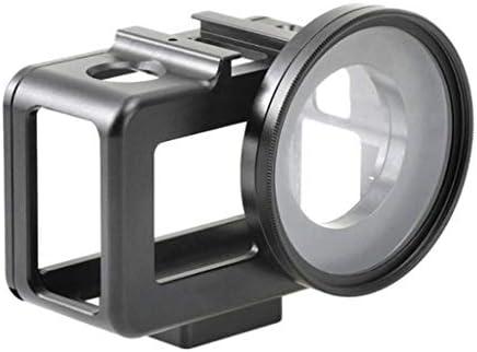gazechimp カメラケージ DJI OSMO専用 アクションカメラ 保護ケース 金属フレーム 傷防止 アルミ