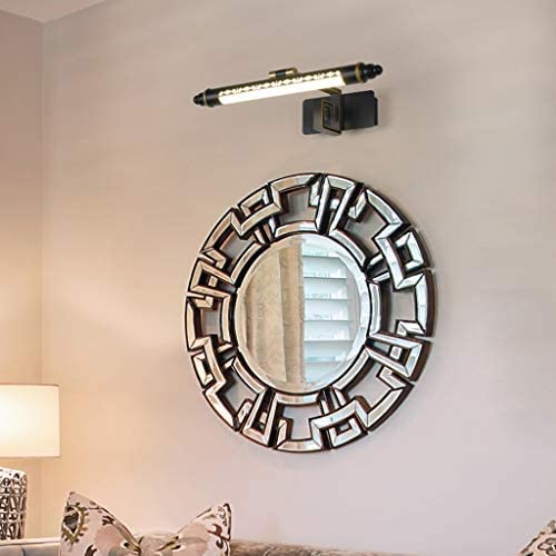 . Hogar a prueba de agua anti-vaho del espejo del LED luz delantera Baño Lavabo Lámparas Dormitorio Armario Tocador de maquillaje Lámpara de pared Mural de Exposiciones Arte Luces