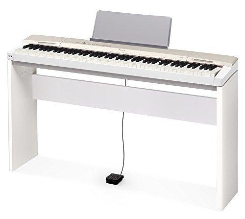 Casio Privia PX-160 Digital Piano in White Gold With Stand
