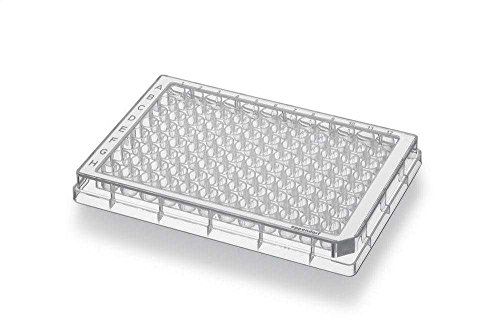 Eppendorf 951040308 Polypropylene White Conical Bottom 96 Well Assay Microplates with Grey Optitrack Frame, PCR Clean, 350microliter Volume (Case of 80) by Eppendorf