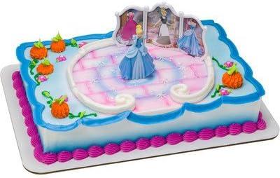 Incredible Amazon Com Cinderella Transforms Birthday Cake Kit Toys Games Personalised Birthday Cards Petedlily Jamesorg