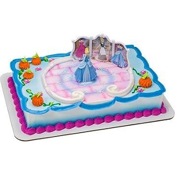 Amazoncom Cinderella Transforms Birthday Cake Kit Toys Games
