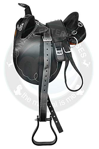 Synthetic Suede Australian Stock Horse Saddle Tack /& Accessories Size 15 to 18