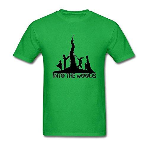 SAMMA Men's Into The Woods Design Cotton T Shirt