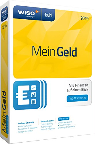 Price comparison product image WISO Mein Geld Professional 2019,  1 DVD-ROM