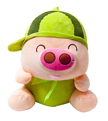 Lovely Fruit Pig Doll Pillow Plush Toys McDull Doll Gifts Watermelon
