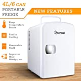 AstroAI Mini Fridge 4 Liter/6 Can AC/DC Portable