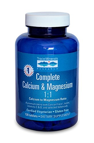 Trace Minerals Complete Cal/Mag 1:1, Tablets, 120-Count For Sale