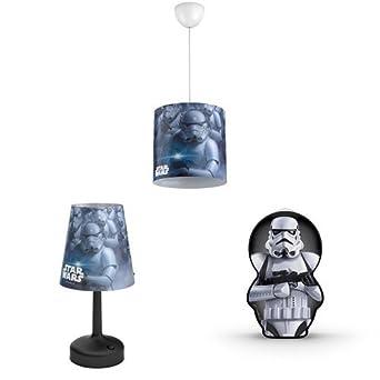 Wars Chevet Star Stormtroopers JourLampe De Philips Abat Portable dQrshCt