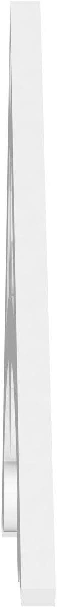8//12 Ekena Millwork GPP072X024X100SLK Gable Pediment 72W x 24H x 1P Pitch Primed