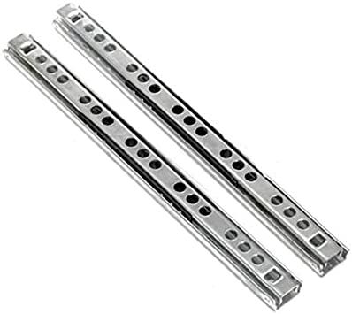 2 X Ball Bearing Slide Rail Cabinet Drawer Runners Slider 8//10//13//16 17mm Tool Color: 10 inch