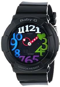 Casio Women's BGA-131-1B2CR Baby-G Analog Display Quartz Black Watch