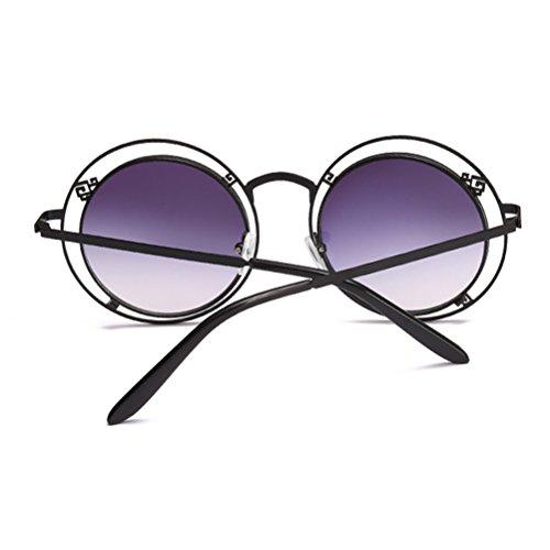 de Femmes des Black de de Motif Unisexe Hommes Double Irrégulière Zhhlaixing Soleil Couleur de Sunglasses pour Gradient des Géométrique Lunettes et Géométrique nwa11fZq0z