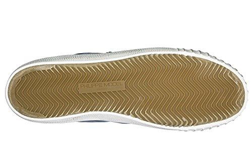 Mejor Vendedor Venta En Línea Comprar Barato Reciente Philippe Model Scarpe Sneakers Uomo in Pelle Nuove Gare Blu Comprar En Linea Descuento Con Mastercard Comprar Descuento Grande Barato cHOOmyI