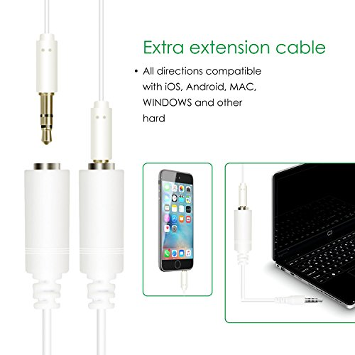 Mugig Professional Lavalier Microphone, Clip-on System Lapel Mic Condenser for Recording, Interview, Video Conference, with extra TRRS Adapter Supporting PC, iphone, Laptop, Camera and More Devices - Image 3