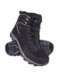 Mountain Warehouse Boulder Mens Winter Waterproof Trekker Boots