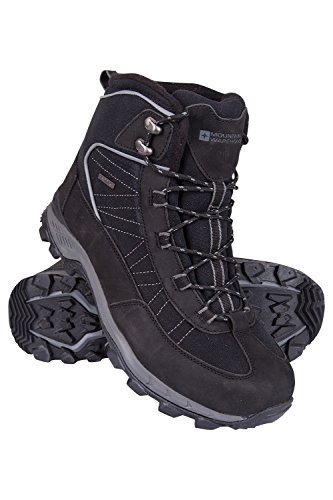 Mountain Warehouse Boulder Mens Winter Waterproof Trekker Boots Dark Grey 13 M US Men ()