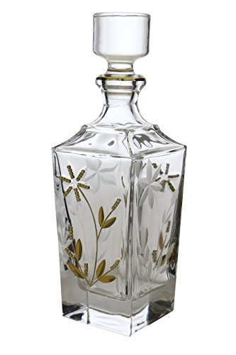 (WINE BODIES ZG26207 Liquor Decanters, Gold)