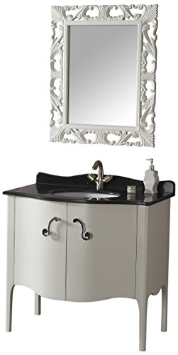 Stone Sink Chest (Legion Furniture WA3037 Solid Wood Sink Chest Without Faucet, 36.5