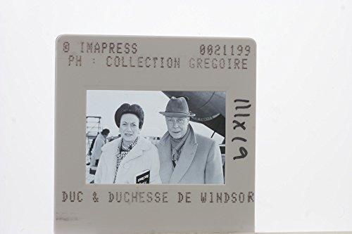 (Slides photo of The Duchess and Duke of Windsor, Wallis and former King Edward VIII.)