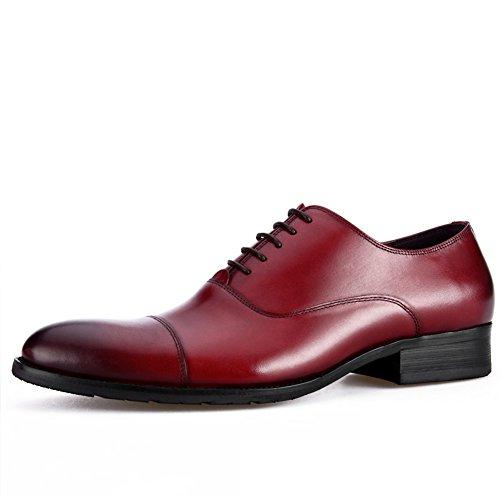 Wedding Blanc Glisser Rouge sur Pointes De pour Hommes Business Smoking Sport Dress Chaussures zc0p6xPwqc