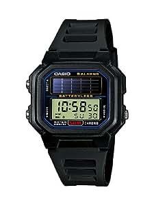 Casio CASIO Collection Men - Reloj digital de caballero de cuarzo con correa de resina negra (alarma, cronómetro, luz, solar) - sumergible a 50 metros