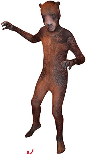 Morphsuits Kids Animal Planet Grizzly Costume, Small (Animal Morph Suits)