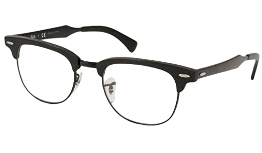 d384cc41b4 ... amazon ray ban rx6295 clubmaster eyeglasses 2805 brusched black 51mm  amazon clothing accessories 9dd34 8a528