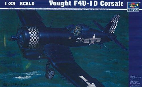 Trumpeter 02221modèle Kit Vought F4U-1D Corsair