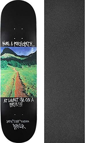 雇ったプラットフォーム有毒Baker Skateboards Justin Figgy Figueroaスーパーストックスケートボードデッキ – 8