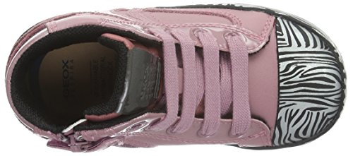 Geox B Kiwi Girl D, Botines de Senderismo para Bebés Rosa (Pink / Black C0115)