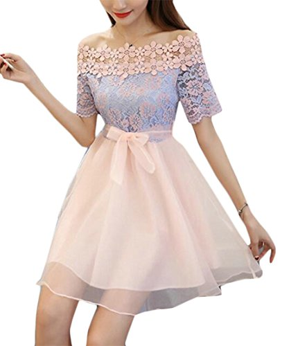 Double Pink Summer Mesh A Collar Cutaway Layers Jaycargogo Line Womens Dress Sexy wqXBxXYP