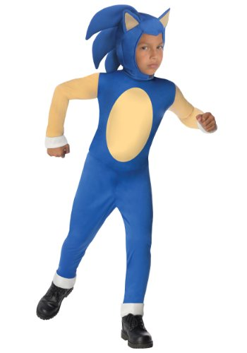 [Sonic Generations Sonic The Hedgehog Costume - Large] (Sonics Halloween)