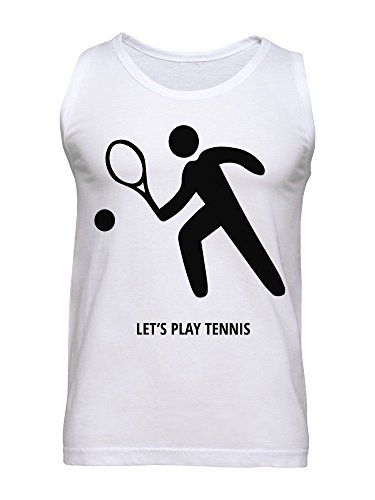 Let's Play Tennis Men's Tank Top