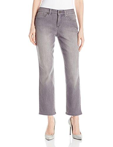 Bandolino Women's Mandie 5 Pocket Jean, Dark Grey Smoke, 14 Short ()