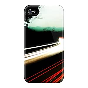 Durable Protector Case Cover With Road Hot Design For Iphone 4/4s