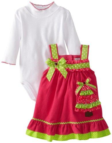 Newborn Christmas Tree Jumper Dress
