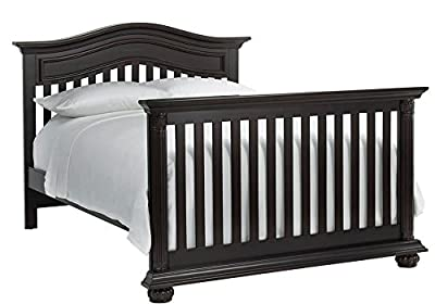 Full Size Conversion Kit Bed Rails for Baby Cache Heritage Cribs - Espresso