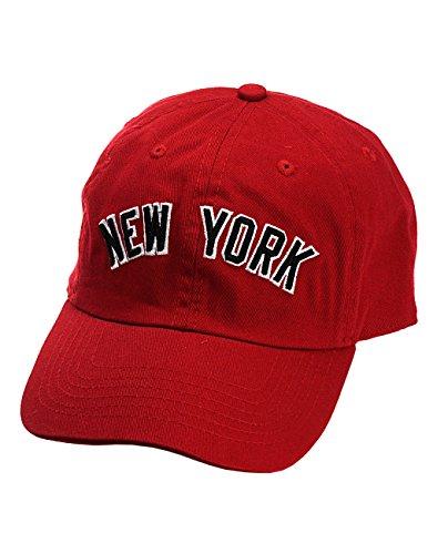 (NYFASHION101 Unisex NYC New York City Embroidered Adjustable Low Profile Cap, NY01,)
