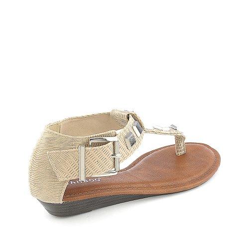 Sandalo Da Donna In Bamboo-23 Naturale