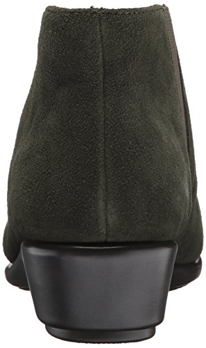Women's Scamosciata Scuro Donna Pelle Da Allowance Aerosoles Verde Stivaletto In Grigio xw07A6qn
