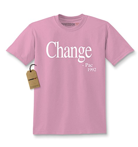 Expression Tees Kids Change - Pac T-Shirt X-Large Light Pink